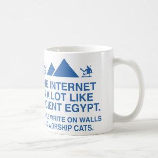 The Internet Is A Lot Like Ancient Egypt Coffee Mug
