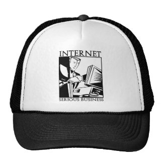 The Internet is Serious Business Trucker Hat