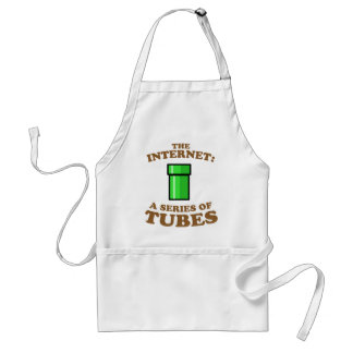 the internet - it�s a series of tubes - ted steven adult apron