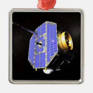 The Interstellar Boundary Explorer satellite Metal Ornament