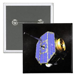 The Interstellar Boundary Explorer satellite Pinback Button