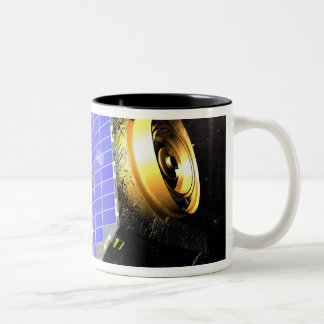 The Interstellar Boundary Explorer satellite Two-Tone Coffee Mug