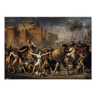 The Intervention of the Sabine Women (1799) Poster
