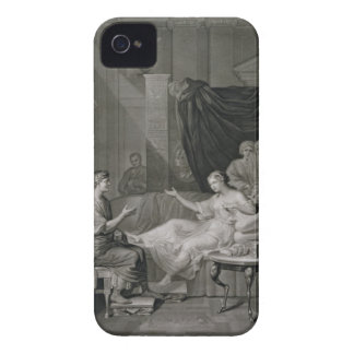 The Interview of Augustus and Cleopatra, engraved iPhone 4 Case