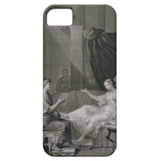 The Interview of Augustus and Cleopatra, engraved iPhone SE/5/5s Case