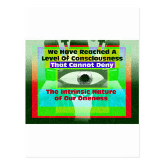 The intrinsic Nature of our Oneness Postcard