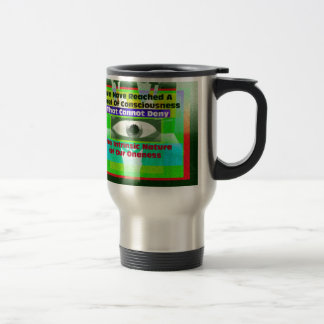 The intrinsic Nature of our Oneness Travel Mug