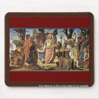 The Introduction Of The Arts In Germany Mouse Pad