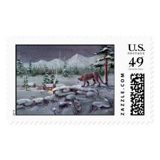 THE INTRUDER by SHARON SHARPE Postage Stamp