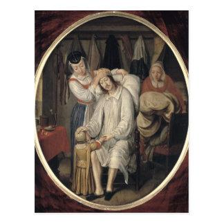 The Invalid, 1669 Postcard