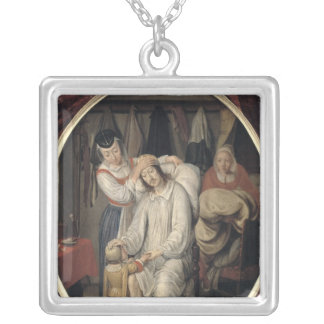 The Invalid, 1669 Silver Plated Necklace