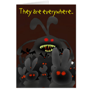 the Invasion begins... Greeting Card