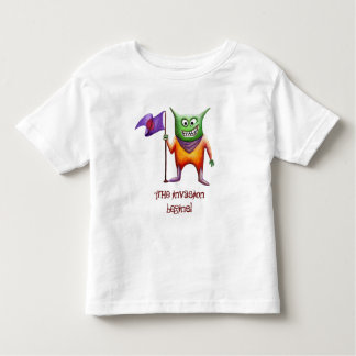 The invasion begins! toddler t-shirt