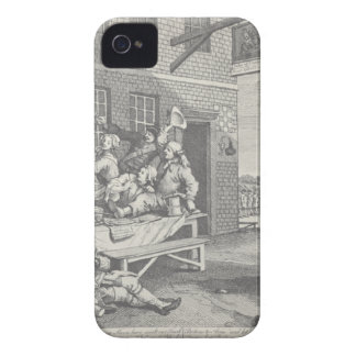 The Invasion, England by William Hogarth iPhone 4 Cover