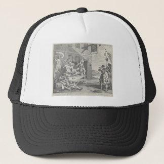 The Invasion, England by William Hogarth Trucker Hat