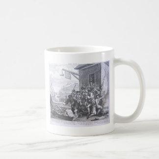 The Invasion, France by William Hogarth Coffee Mug