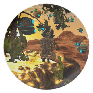 The invasion dinner plate
