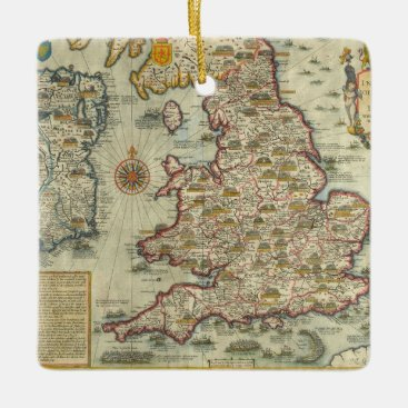 The Invasions of England & Ireland Ceramic Ornament