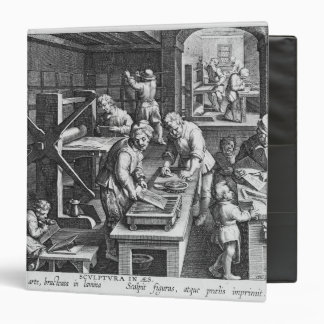 The Invention of Copper Engraving Binder