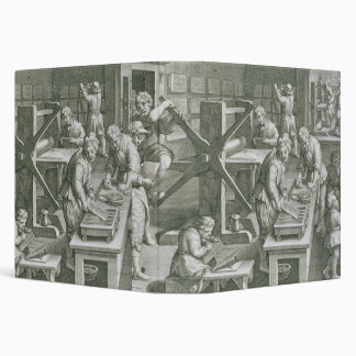 The Invention of Copper Engraving, plate 20 from ' 3 Ring Binder