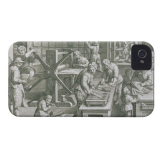 The Invention of Copper Engraving, plate 20 from ' Case-Mate iPhone 4 Case