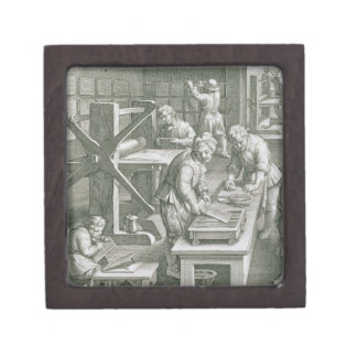 The Invention of Copper Engraving, plate 20 from ' Gift Box