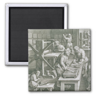 The Invention of Copper Engraving, plate 20 from ' Magnet