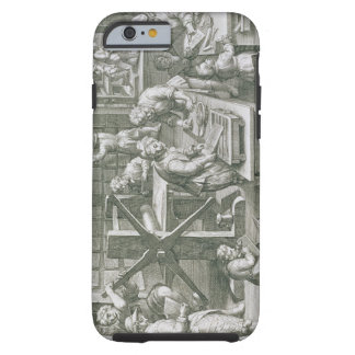 The Invention of Copper Engraving, plate 20 from ' Tough iPhone 6 Case