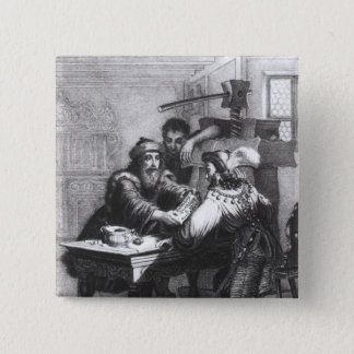 The Invention of Printing, 1827 Button