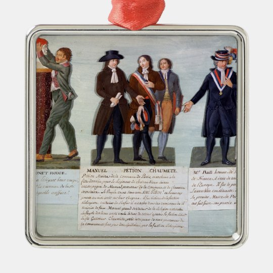 The Invention of the Red Hat,Manuel, Petion Metal Ornament
