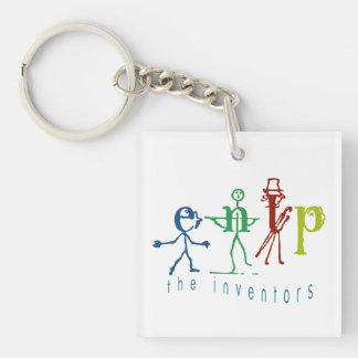 The Inventor - Myers Briggs ENTP - Cute Keychain