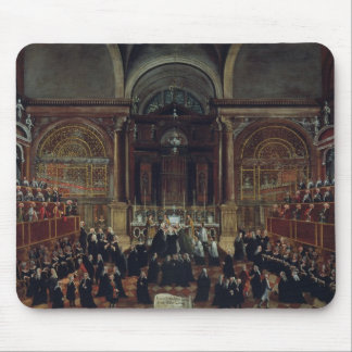 The Investiture of a Monarch in San Lorenzo (oil o Mouse Pad