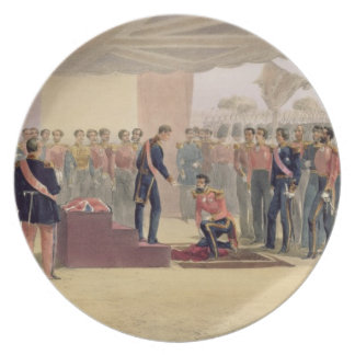The Investiture of the Order of the Bath, plate fr