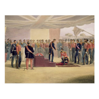 The Investiture of the Order of the Bath, plate fr Postcard