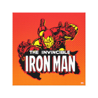 The Invincible Iron Man Graphic Canvas Print