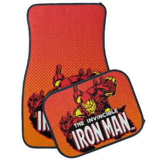 The Invincible Iron Man Graphic Car Mat