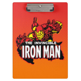 The Invincible Iron Man Graphic Clipboard