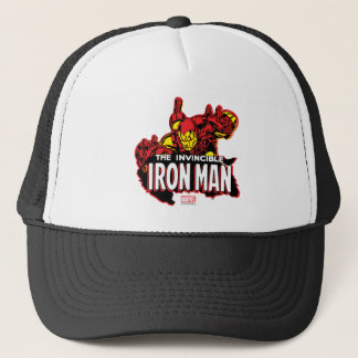 The Invincible Iron Man Graphic Trucker Hat