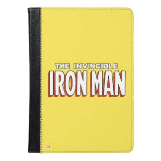 The Invincible Iron Man Logo iPad Air Case