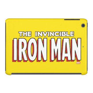 The Invincible Iron Man Logo iPad Mini Retina Cover