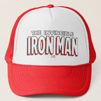 The Invincible Iron Man Logo Trucker Hat