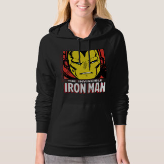 The Invincible Iron Man Retro Comic Icon Hoodie