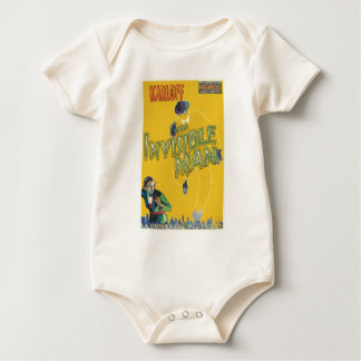THE INVISIBLE MAN by Philip J. Riley Baby Bodysuit