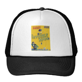 THE INVISIBLE MAN by Philip J. Riley Trucker Hat
