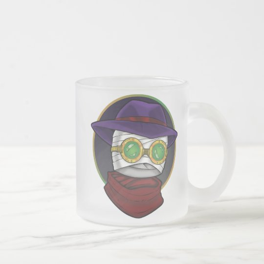 The Invisible Man Frosted Glass Coffee Mug