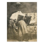The invisible man postcard