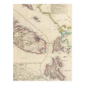 The Ionian Islands and Malta Postcard