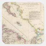 The Ionian Islands and Malta Square Sticker