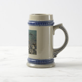 The Ionian Sea from Aci Castello Sicliy 18 Oz Beer Stein