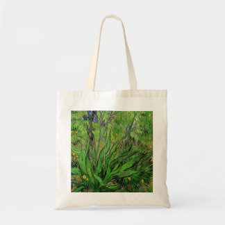 The Iris by Vincent van Gogh Canvas Bags